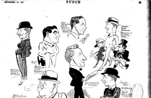 Image of early Punch magazine cartoon