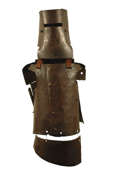Photo of the Kelly Gang's armour