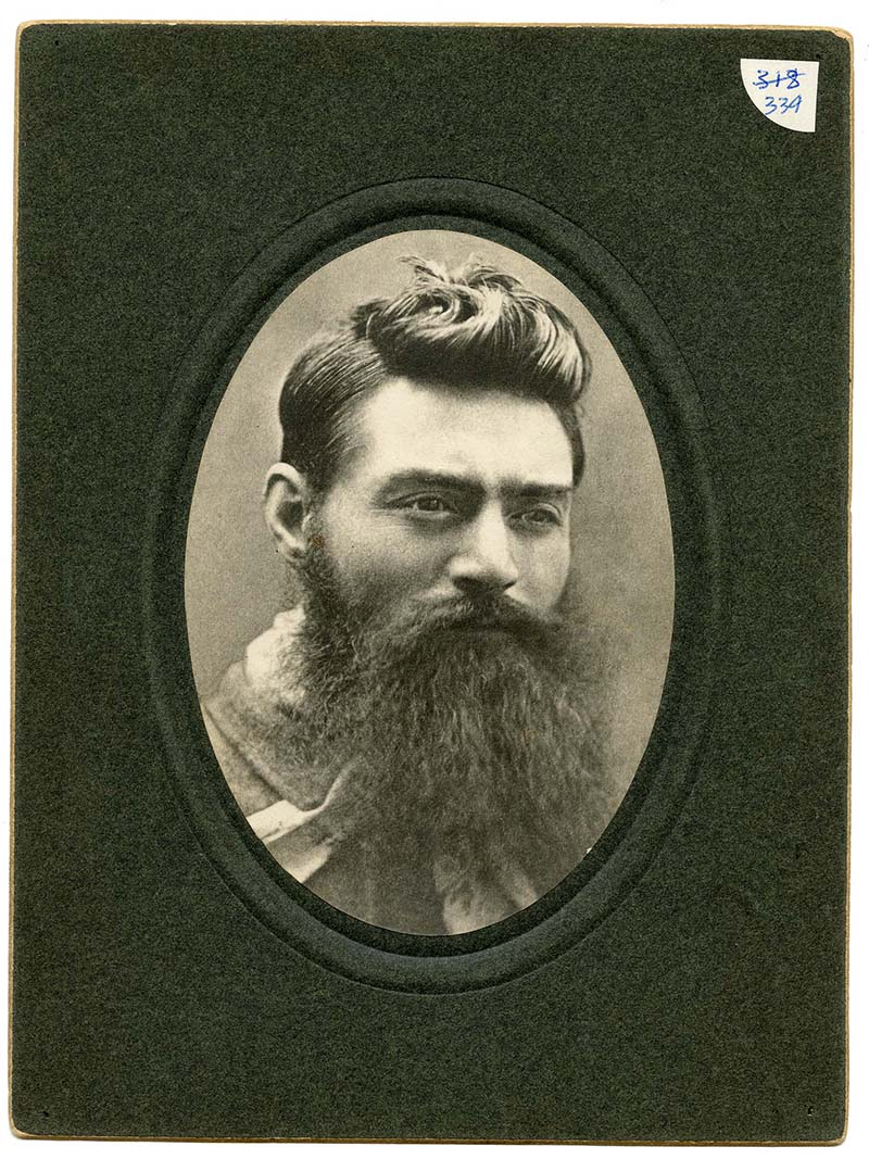 Photo of Ned Kelly