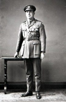 Photo of George Ingram in army uniform